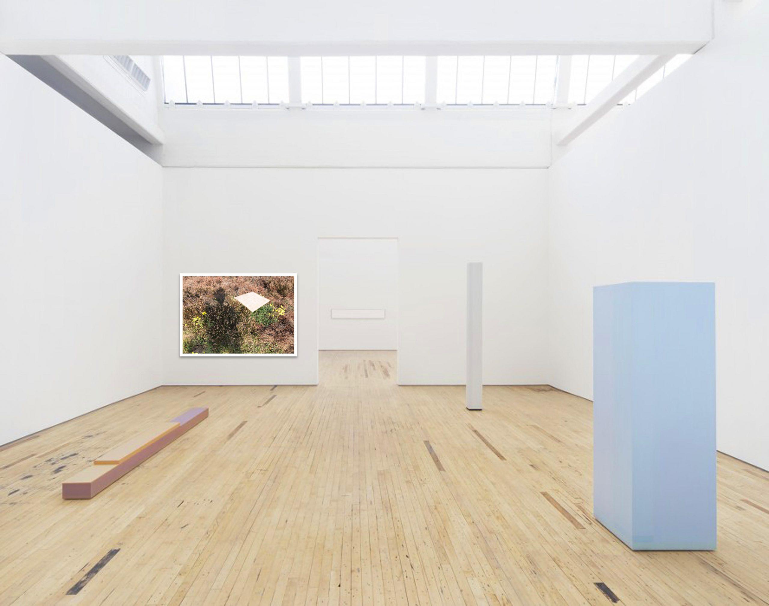 'A Minimal Life 7' samen met het werk van Anne Truitt in Dia Beacon, New York (VS)