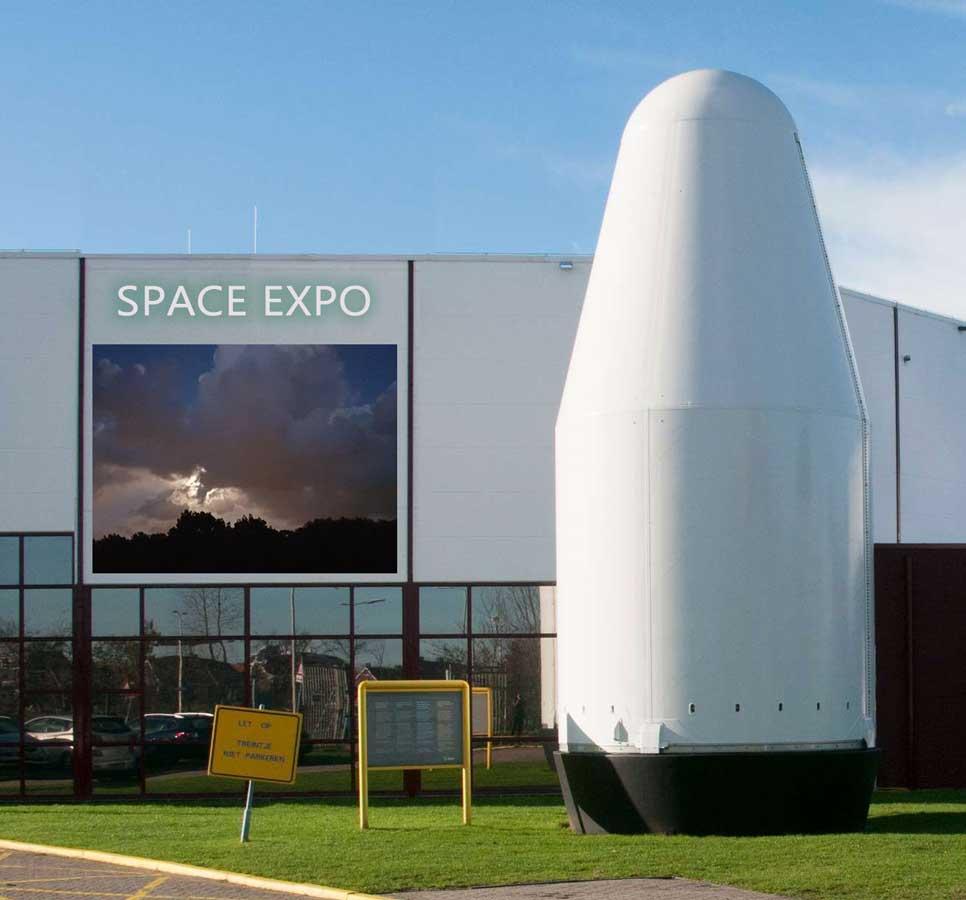 gedoneerd aan Space Expo, Keplerlaan, Noordwijk NL